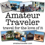 The Amateur Traveler podcast - 150 x 150