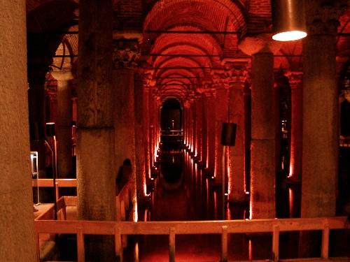 Basilica Cistern – Istanbul, Turkey – Photo