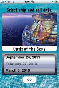 Ship Mate – an iPhone App for Royal Caribbean Cruise Passengers