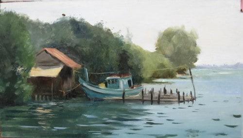 Fishing Boat, Otres Beach, Cambodia