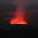 Lava Glow – Volcanoes National Park, Hawaii – Photo