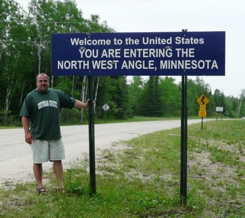 The Northwest Angle In Minnesota Only For The Sake Of Geography - Most northerly state usa