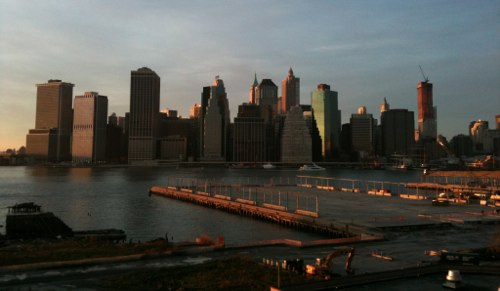 View from Brooklyn Heights Promenade