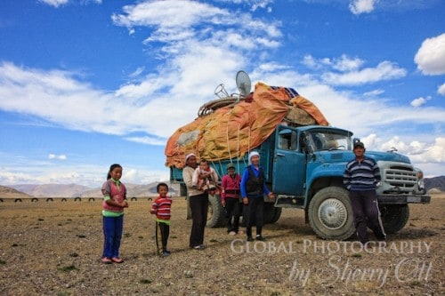 Mongolia moving day