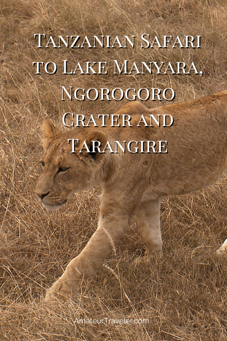 Tanzanian Safari to Lake Manyara, Ngorogoro Crater and Tarangire