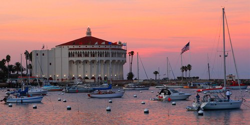 Catalina Casino Sunset