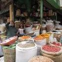 Spice Vendor Stand at Kashmiri Bazaar – Lahore, Pakistan – Photo