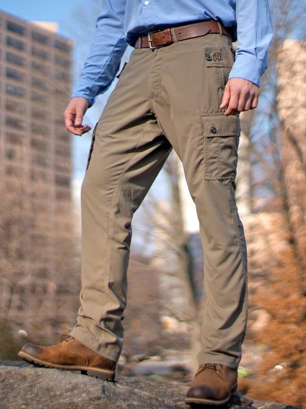 pickpocket proof pants from Clothing Arts