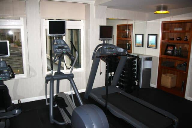 Fitness Center - Kimpton's Hotel Palomar - San Francisco California