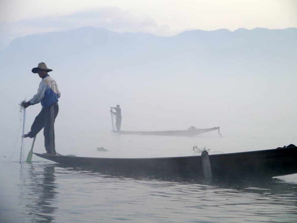 Leg Rowers – Inle Lake, Myanmar – Photo