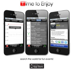 App Review: Time to Enjoy for iPhone, iPad and iPod Touch
