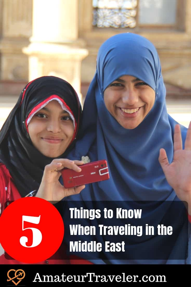 5 Things to Know When Traveling in the Middle East #travel #middleeast #muslim #islam