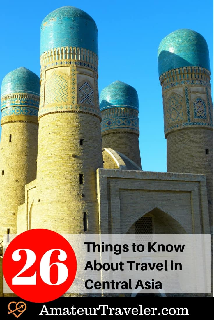 26 Things You Need to Know About Traveling in Central Asia #travel #Kazakhstan #Uzbekistan #Kyrgyzstan #Turkmenistan #Tajikistan #Afghanistan