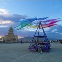 Temple of Juno at Burning Man – Black Rock City, Nevada – Daily Photo