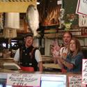 Flying Fish at the Pike's Place Market – Seattle, Washington – Photo
