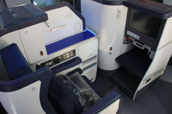 Boeing 787 Dreamliner - Business Class on ANA