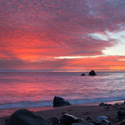 New Years Eve Sunset – South of Big Sur, CA – Daily Photo