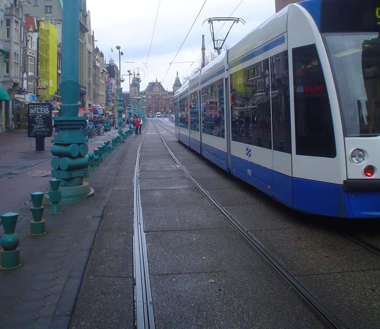 Tram tracks- a biker's nemesis