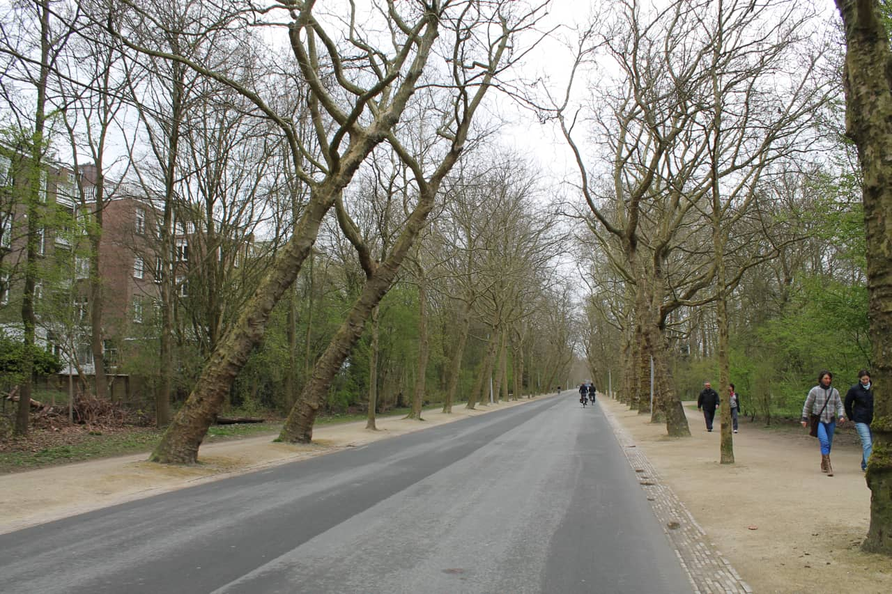 Vondelpark is a great place to get comfortable