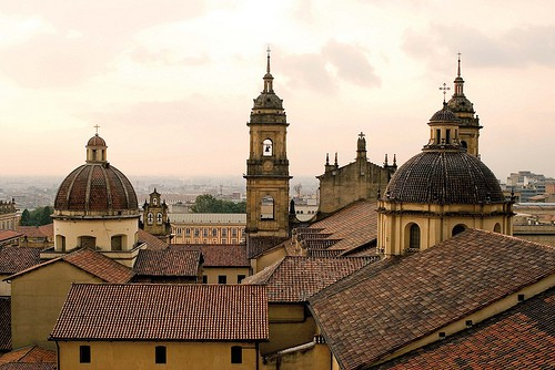 Roofs of La Canderalia, Bogot‡