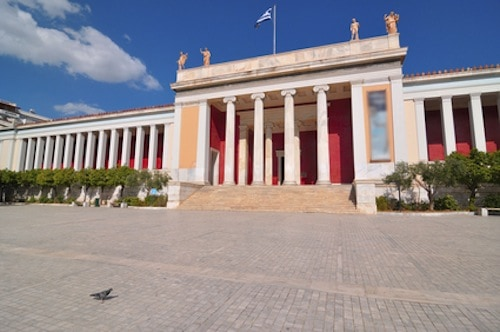 National Archaeological Museum in Athens , Greece