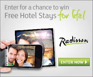 Radisson is Giving Away Free Hotel Stays for Life