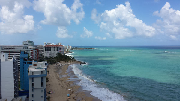 View from the Marriott, San Juan Puerto Rico