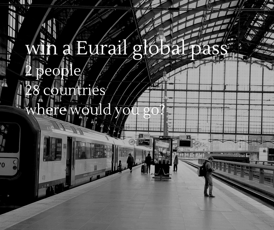 Enter to Win a Eurail Global Pass