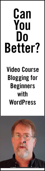 Beginning Blogging with Wordpress