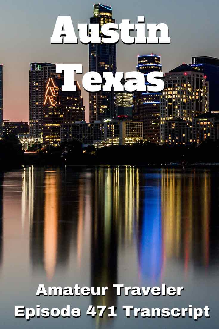 Travel to Austin Texas