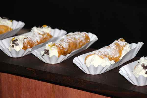 cannoli at Cavalli Cafe