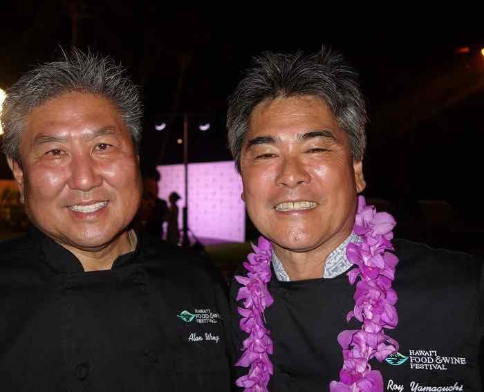 Chefs Alan Wong and Roy Yamaguchi