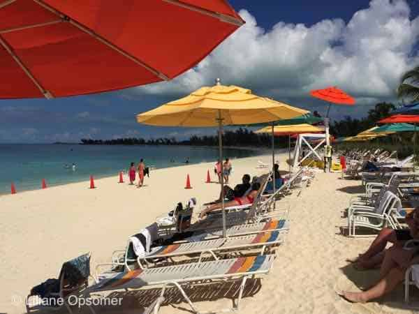 Adult Beach at Castaway Cay - The Disney Dream - Fabulous Food, Fun Times, and Great Comfort