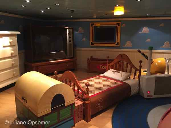 Andy's Room - The Disney Dream - Fabulous Food, Fun Times, and Great Comfort