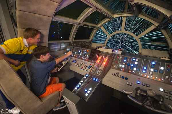 Millennium Falcon - The Disney Dream - Fabulous Food, Fun Times, and Great Comfort