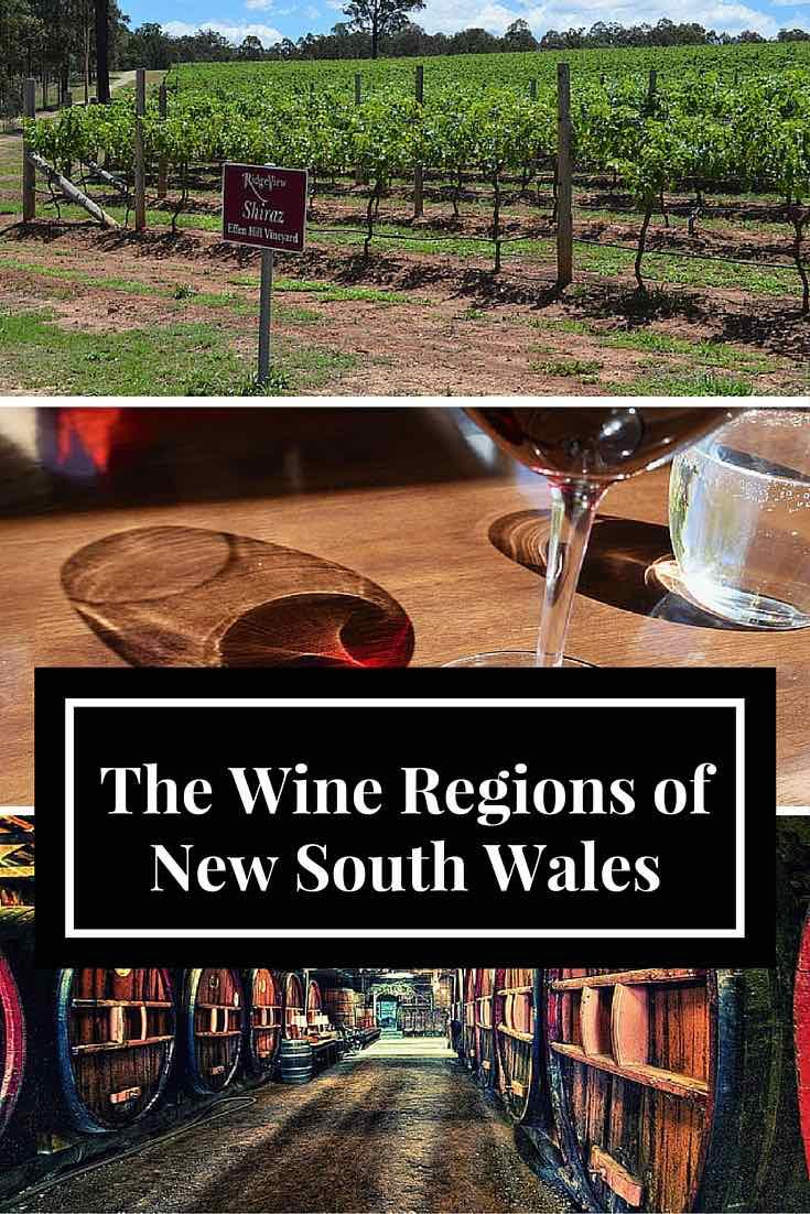 Yeni Güney Galler Şarap Bölgeleri