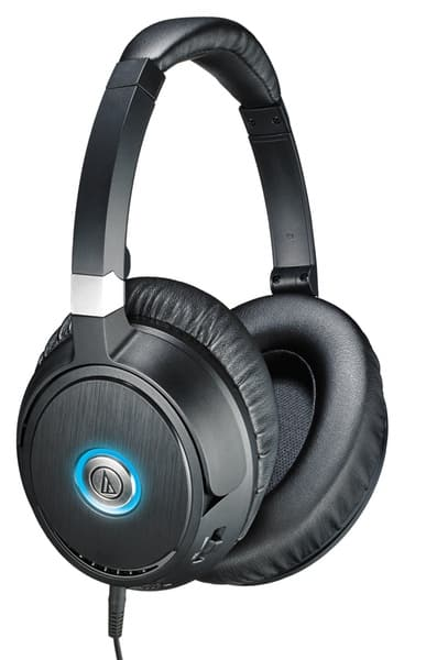 ATH-ANC70 QuietPoint® Active Noise-cancelling Headphones by Audio-Technica