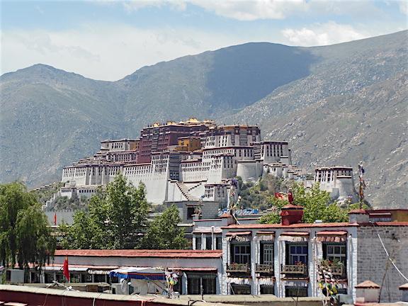 Jokhang Tapınağı Çatı