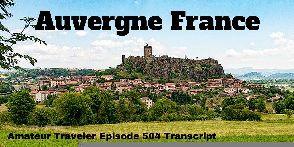 Travel to Auvergne France