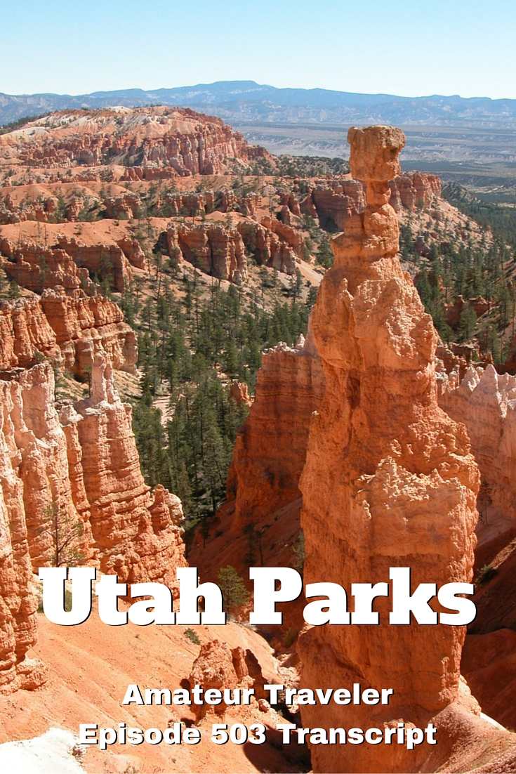 VIsiting the National Parks in Utah