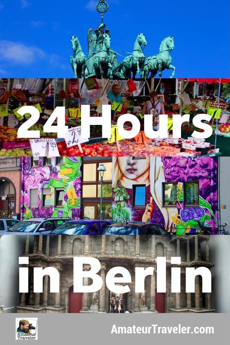 """24 Saat Berlin, Almanya - siteler, müzeler ve Kreuzberg yürüyüş turu """"width ="""" 300px"""