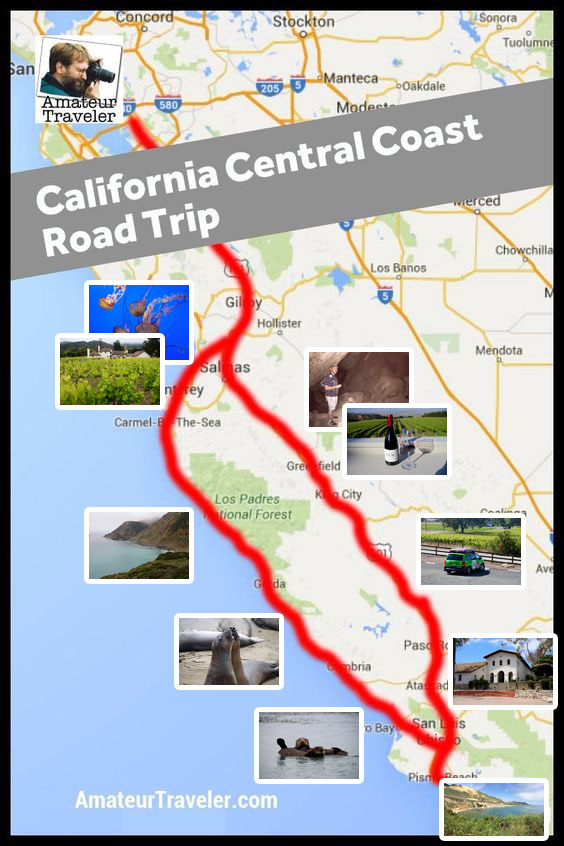 Central Coast of California Road Trip - Pinnacles, Parks, Pinot, and Paddling