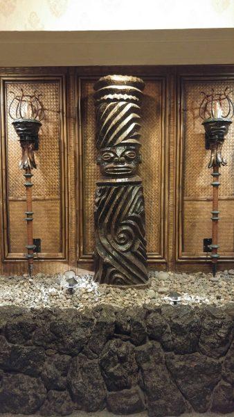 Tonga Room welcoming Tiki Statue