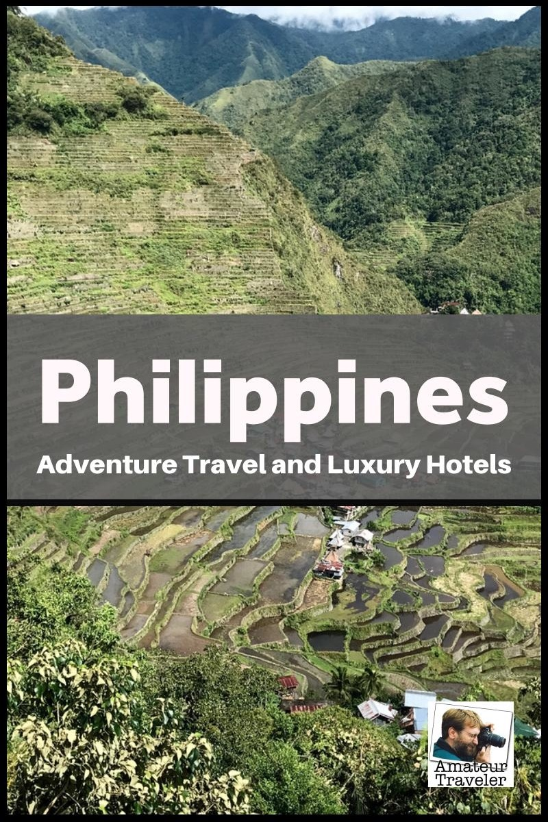 The Philippines - Bangaan Rice Terraces (and Luxury Hotels)
