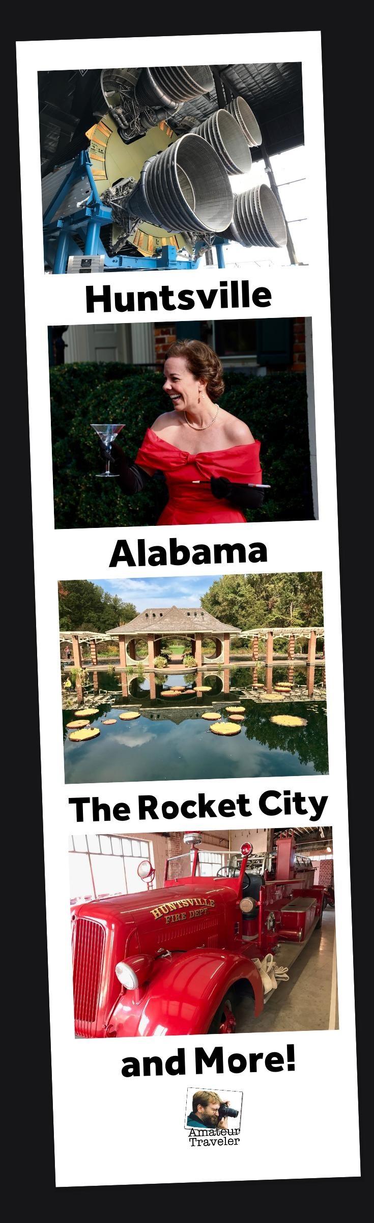 Huntsville, Alabama'da Yapılacaklar, Görülecek ve Yemek - Rocket City