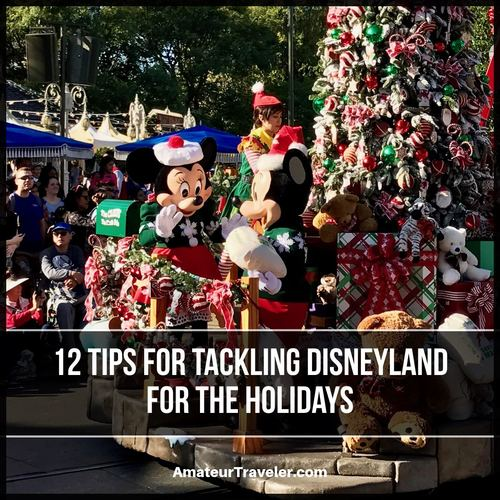 12 Tips for Tackling Disneyland for the Holidays