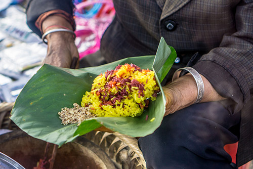 Sticky Rice (xôi) - Vietnam