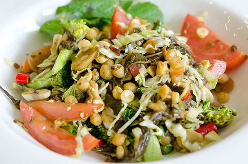 Green Tea Salad (Laphet Thohk) - Myanmar