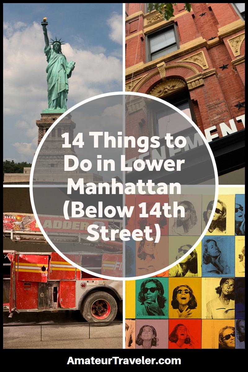 Aşağı Manhattan'da Yapılabilecek 14 Şey (14. Caddenin Altında)