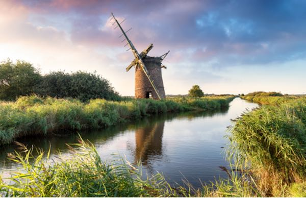 The Broads National Park - England